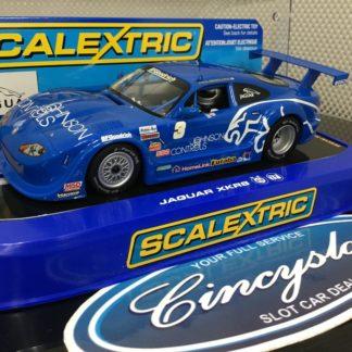 Scalextric C2908 Jaguar XKRS #3 Johnson Controls.