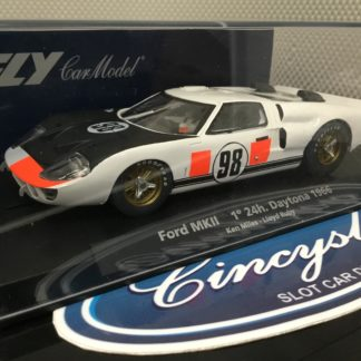 FLY 88247 Ford MKII 1st 24h Daytona 1966 #98 MILES RUBY NEW.