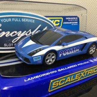 Scalextric C2876 Lamborghini Gallardo Polizia.