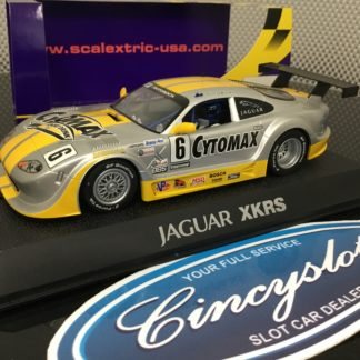 Scalextric C2761 Jaguar XKRS #6 Lightly Used.