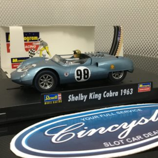 Monogram 85-4884 Shelby King Cobra 1963, Lightly Used.