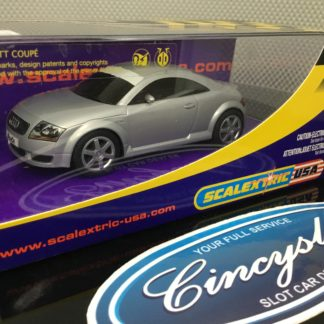 Scalextric C2506 Audi TT Silver. Lightly Used.