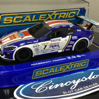 Scalextric C3380 Maserati Trofeo #7 Used.