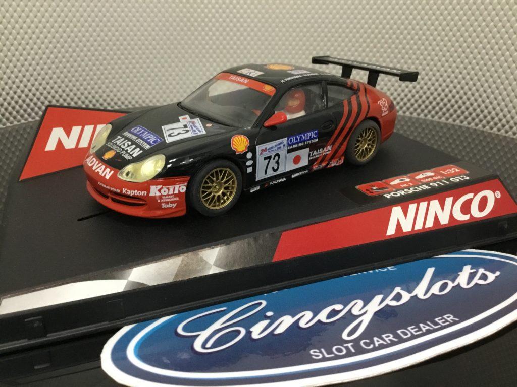 Ninco 50241 Porsche 911 GT3 Taisan, Lightly Used.