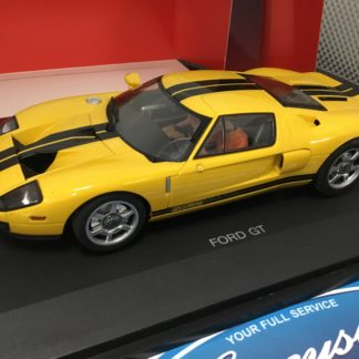 Autoart 14101 2005 Ford GT Yellow 1/24.