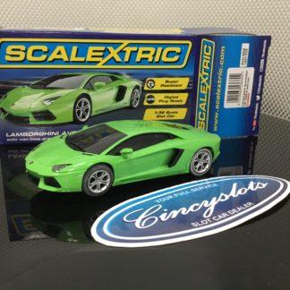 Scalextric C3660 Lamborghini Aventador. Lightly Used.