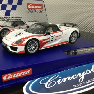 Carrera D132 30711 Porsche 918 Spyder Lightly Used.