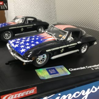 Carrera Evolution 25743 Corvette Sting Ray, Lightly Used.