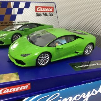 Carrera D132 30730 Lamborghini Huracan, Lightly Used.