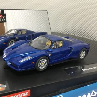 Carrera 25773 Enzo Ferrari Blue, Lightly Used.