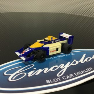 TYCO Canon #5 Indy F1 HO SLOT CAR. USED WORKING
