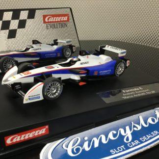 Carrera Evolution 27501 Formula E, Lightly Used.