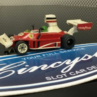 Aurora AFX G-Plus #6 Ferrari Indy F1 HO SLOT CAR. USED WORKING