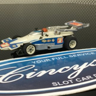 Aurora AFX G-Plus LOLA #7 Indy F1 HO SLOT CAR. USED WORKING