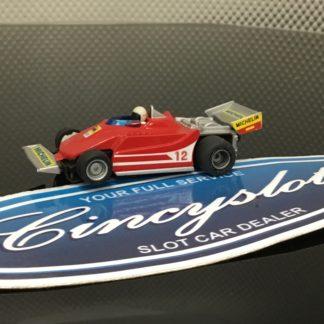 Tyco Ferrari AGIP Michelin #12 Indy F1 HO SLOT CAR.
