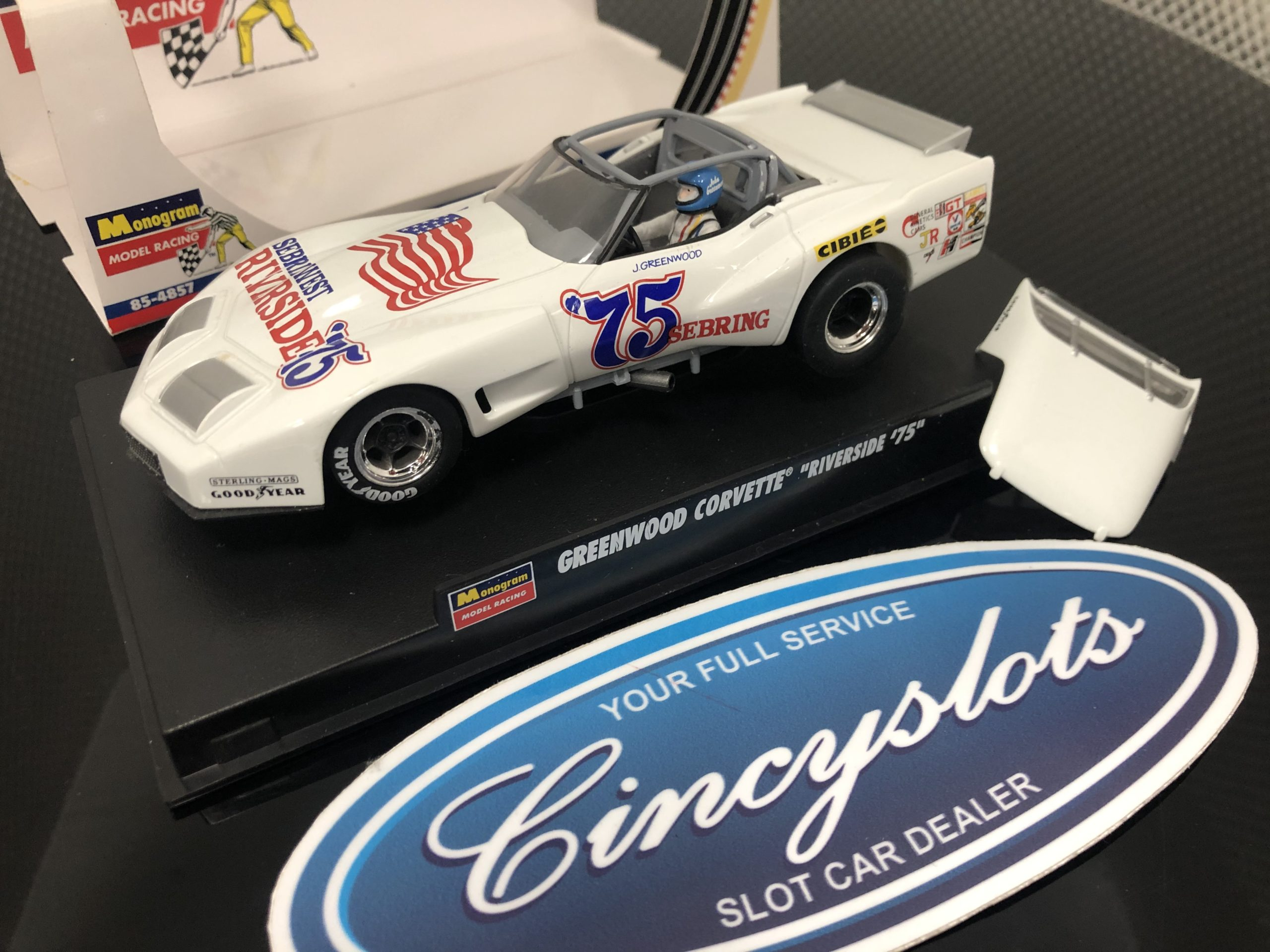 Monogram Revell 4857 Greenwood Corvette