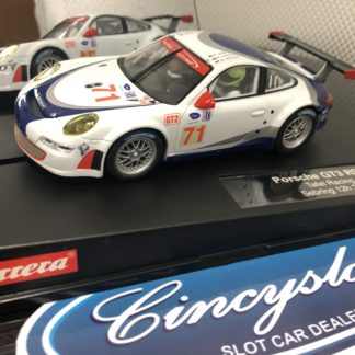 Carrera D132 30409 Porsche GT3 RSR 27209 Lightly Used.