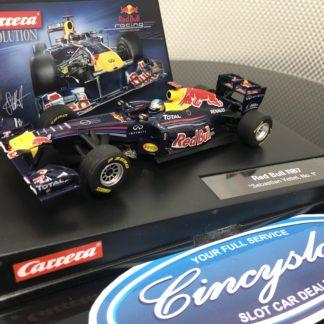 Carrera Evolution 27419 Red Bull Vettel, Lightly Used.