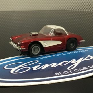 TYCO PRO Chevrolet Corvette HO Slot Car Used.