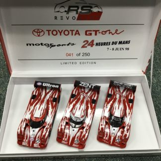 RevoSlot RS0055 Toyota GT1 3 Car Set Limited Edition 1 of 250.