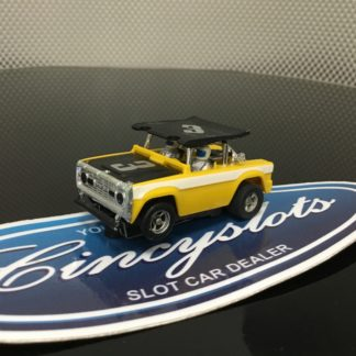 AFX Ford Bronco BAJA HO Slot Car, Used.
