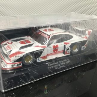 Sideways SW14 Ford Capri Zakspeed Wurth 1/32 Slot Car.