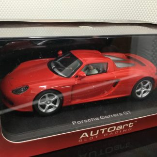 AutoArt 13192 Porsche Carrera Red 1/32 Slot Car.