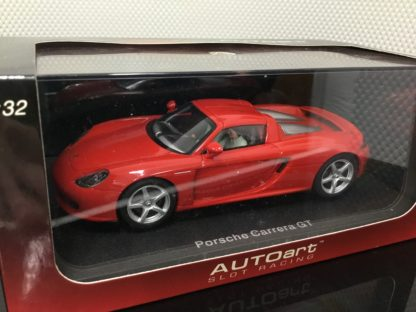 AutoArt 13192 Porsche Carrera Red 1/32 Slot Car.