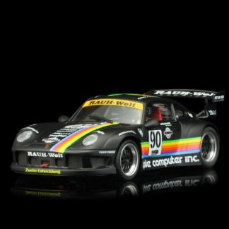 REVOSLOT RS0049 PORSCHE 911 GT2 Apple black #90 1/32 Slot Car.