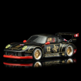 Revoslot RS0050 PORSCHE 911 GT2 JPS black #12 1/32 Slot Car.