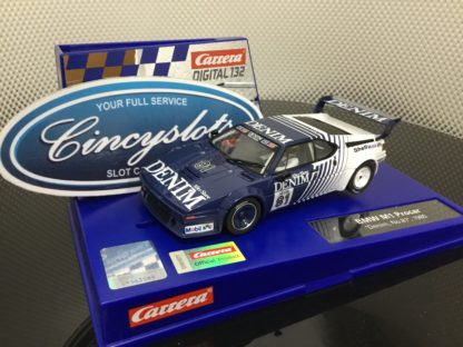 Carrera D132 30925 BMW M1 Procar #81 1/32 Slot Car.