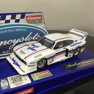 Carrera D132 30926 Ford Capri Zakspeed Turbo 1/32 Slot Car.