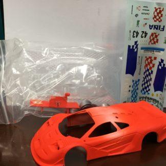1/32 Top Slot McLaren Resin body, Neon Fina.
