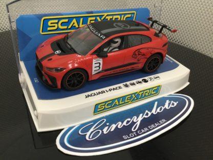 Scalextric C4042 Jaguar I-Pace Etrophy 1/32 Slot Car.