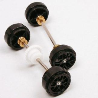 Carrera D132/Evolution Porsche RSR Axle Set Pink Pig Type.