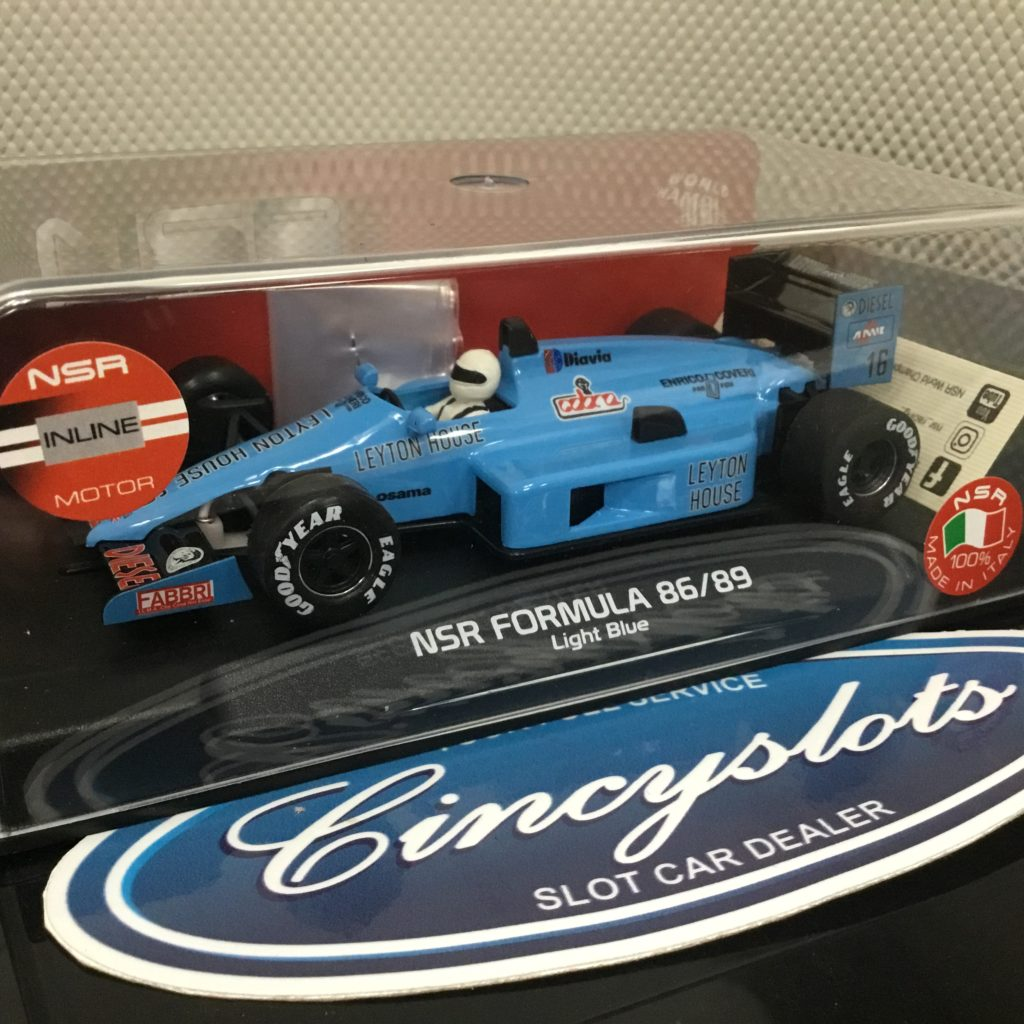 NSR NSR0126IL Formula 86/89 Leyton House 1/32 Slot Car.