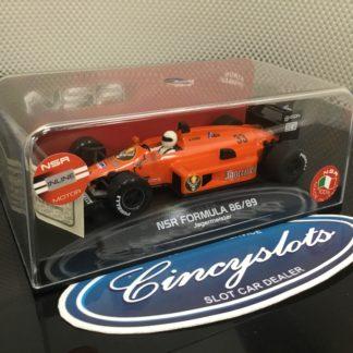 NSR NSR0125IL Formula 86/89 Jagermeister 1/32 Slot Car.