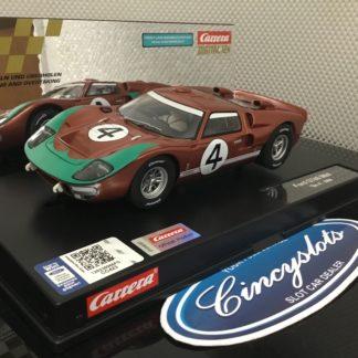 Carrera D124 23896 Ford GT40 MKII #4.