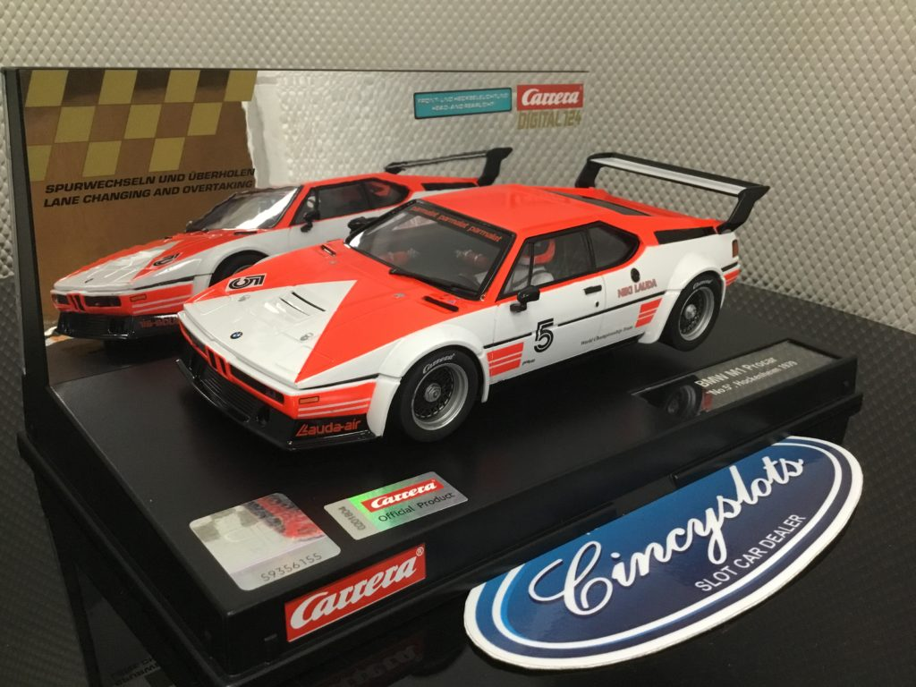 Carrera D124 23902 BMW M1 Marlboro (type) #5.
