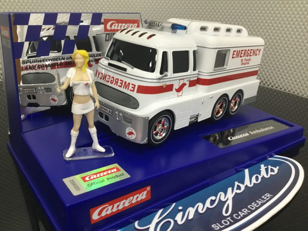 Carrera Digital D132 30943 Ambulance W/Figure.