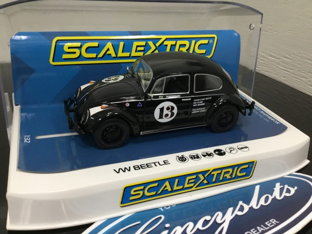 Scalextric C4147 VW Beetle Goodwood #13.