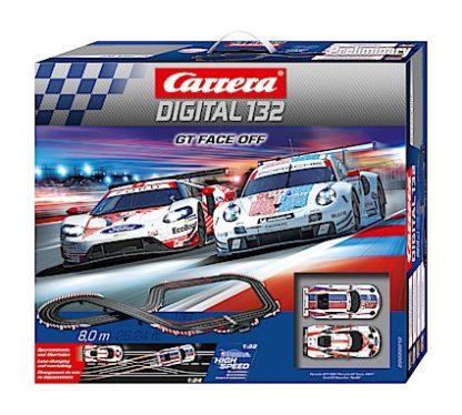 Carrera D132 30012 GT Face Off Digital Race Set.