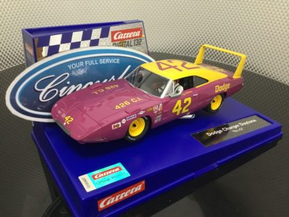 Carrera D132 30941 Dodge Charger Daytona #42.