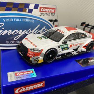 Carrera D132 30935 AUDI RS 5 DTM 1/32 Slot Car.