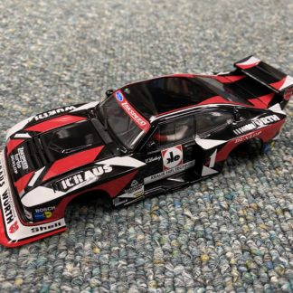 Carrera 1/32 Ford Capri Zakspeed Wurth, Black..