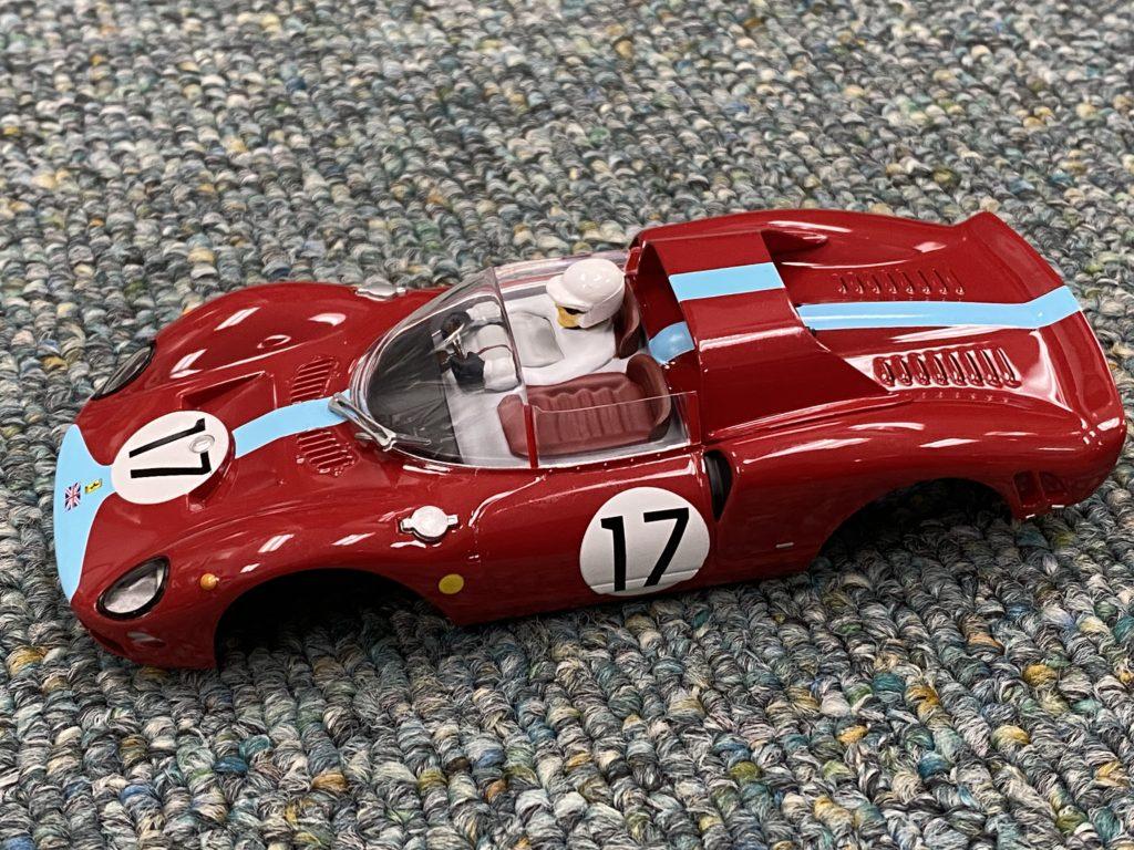 Carrera 1/32 Ferrari 365 #17 Body, NEW.