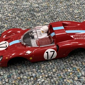 Carrera 1/32 Ferrari 365 #17 Body, NEW.