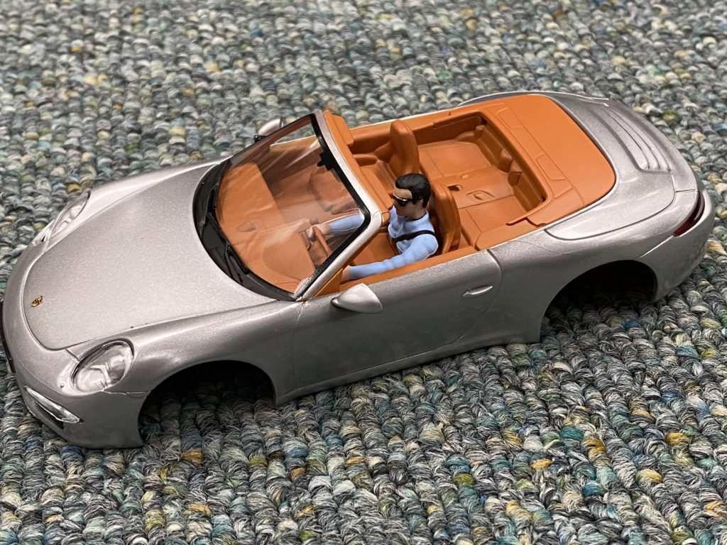 Carrera 1/32 Porsche 911 Body NEW. Silver.