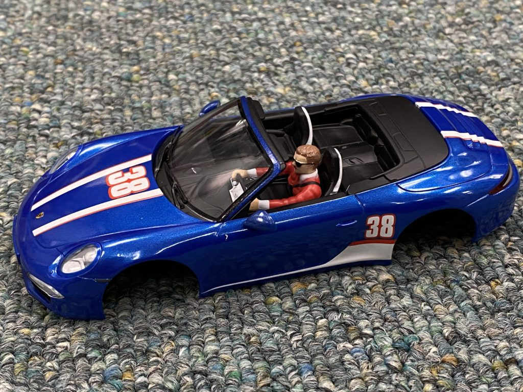 Carrera 1/32 Porsche 911 Body NEW. Blue.