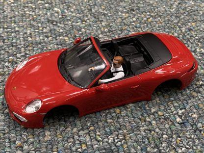 Carrera 1/32 Porsche 911 Body NEW. Red.